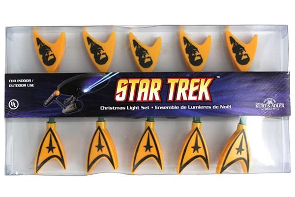 Spock Star Trek Christmas Light Set - Off-Brand Star Trek Christmas Items Hallmark Star Trek Ornaments