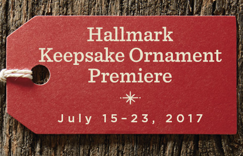 Hallmark keepsake ornament premiere july 15 23 2017 for Hallmark christmas in july 2017 schedule