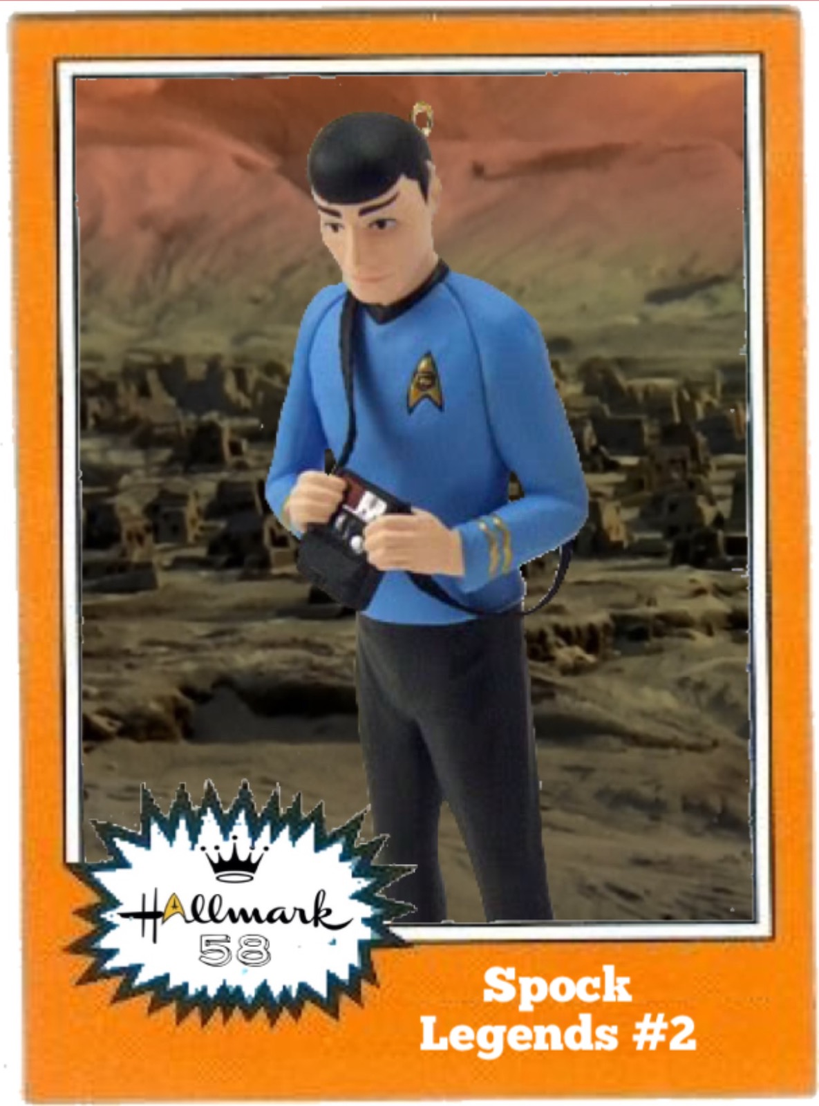 McCoy Star Trek Christmas NOS 1997 Hallmark Keepsake Ornament Dr Leonard H