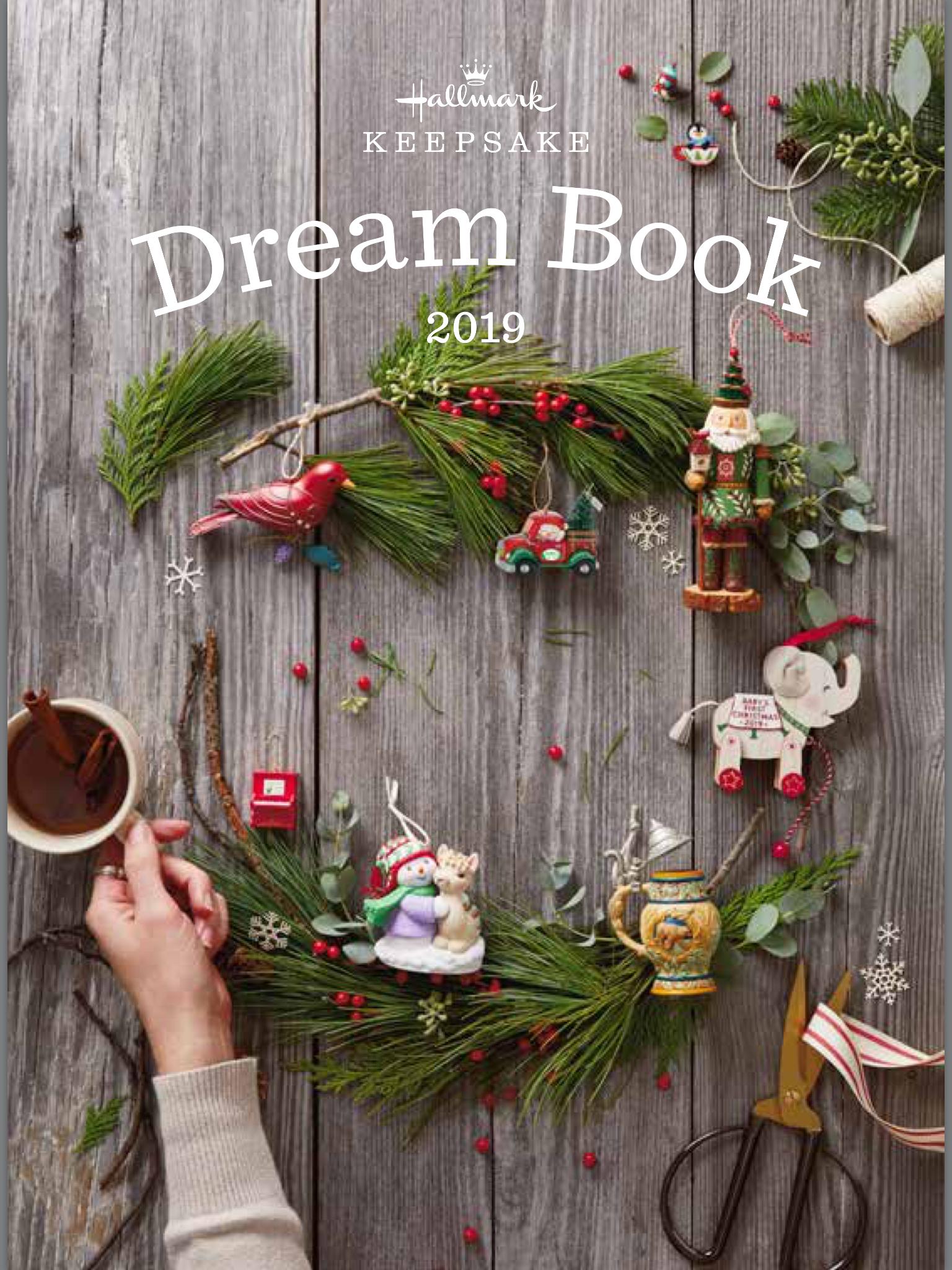 2019 Hallmark Dream Book Hallmark Star Trek Ornaments